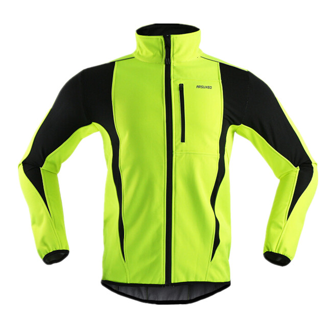 ARSUXEO New Bicycle Jacket Thermal  Jacket Winter Warm Up Bicycle Clothing Windproof Waterproof Soft shell Coat MTB  Jersey<br><br>Aliexpress