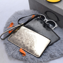 New Arrival Fashion Women Handbag Wristlet Strap Bag Pu Leather Evening Day Clutches Girls Coin Purse Phone Cards Clip Wallet(China)