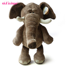 Elephant Plush Toys Christmas Gift Stuffed  Soft Toys Elephant 30cm