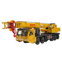 KAIIWEI Alloy engineering vehicle model 1:55 heavy crane large crane car toy factory simulation(China)