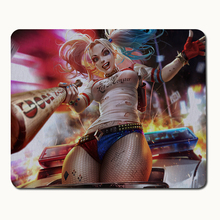 Suicide Squad Clown Woman Mouse Pad Sexy Optical Mouse Anime Big Mouse Pad Computer Keyboard Large Mouse Pad Notebook Gaming Mat
