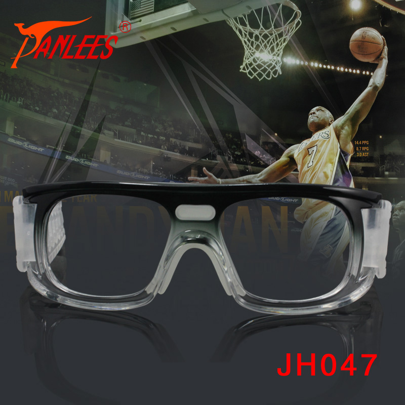 Anti impact Sports Eyewear Unisex Gradient Color Frame Transparent Lens Basketball Goggles with Strap<br><br>Aliexpress
