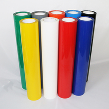 New Style PU Heat Transfer Cutting Vinyl Film Manufacture & Wholesale PU Heat Transfer Vinyl 0.3Mx30M