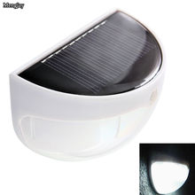 New Generation LED Solar Power Bright PIR Human Body Motion Sensor Induced Home Security Lamp Outdoor Light  6 LED Fence Gutter