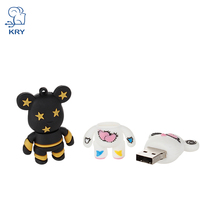 KRY Silicone cartoon Rilakkuma pen drive Gloomy usb flash drive 64gb high speed pendrive 4gb 8gb 16gb 32gb memory stick u disk