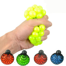 New Funny toys Antistress Reliever Grape Ball Autism Mood Squeeze Relief Healthy Toys Action figures for Halloween Jokes