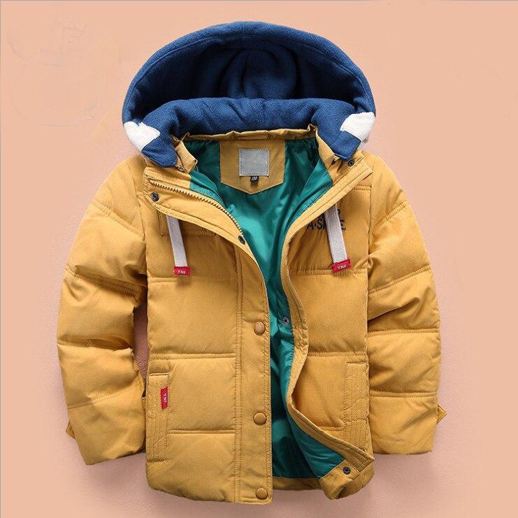 2017 Boys Winter Jacket For Girl Down Outwear kid Infant Overcoat Clothes Baby Coat Teenage Waterproof Thick Parka For AutumnÎäåæäà è àêñåññóàðû<br><br>