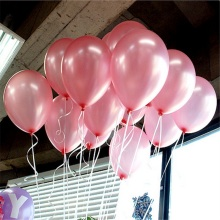 10pcs/lot 10inch Pink Latex Balloons Air Balls Inflatable Wedding Party Decoration Birthday Kid Party Float Cheap Balloons Toys