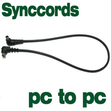 "COMLYO 12"" 12 inch Male to Male M-M FLASH PC Sync Cable Cord Camera Accessories Free Shipping"