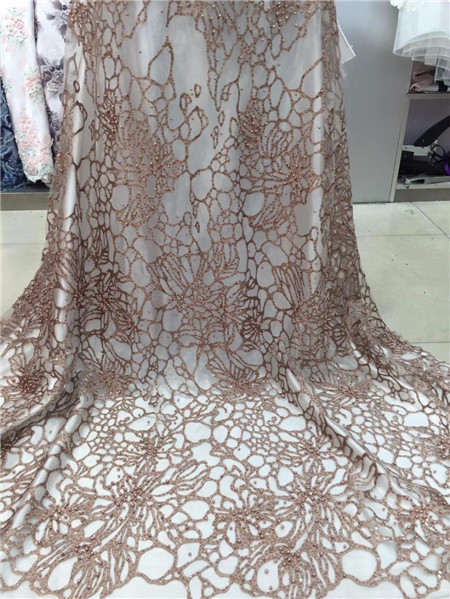 Lace-Fabric-2018-African-Lace-Fabric-With-Beads-sequins-Nigerian-Tulle-Fabric-High-Quality-French-Dress (2)