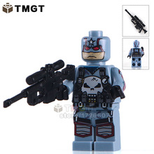 TMGT Building Blocks Single Sale PG216 Captain Punisher With Weapon Marvel Super Heroes Bricks Children Gifts Toys PG8058