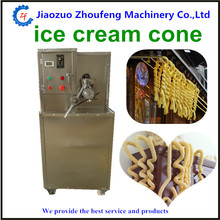Ice cream puffed corn machine hollow tube ice cream corn popping machine filling ice cream popcorn tube puffing machine(China)