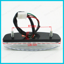 LED Tail Brake Light For 50cc 70cc 90cc 110 cc Chinese ATV Quad NST SunL Taotao Roketa Buggy Go Kart(China)