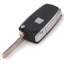 Modify Folding Type 1Button Remote Key Shell Case FOB for Fiat Punto Bravo Doblo