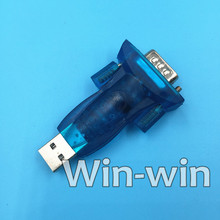 1pcs HL-340 New USB to RS232 COM Port Serial PDA 9 pin DB9 Adapter support Windows7-64
