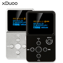 Original XDuoo X2 HiFi Digital Audio Player MP3 with OLED Screen TF Card Slot Aluminum Alloy Housing