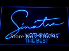 c163 Frank Sinatra Nothing But the Best LED Neon Sign