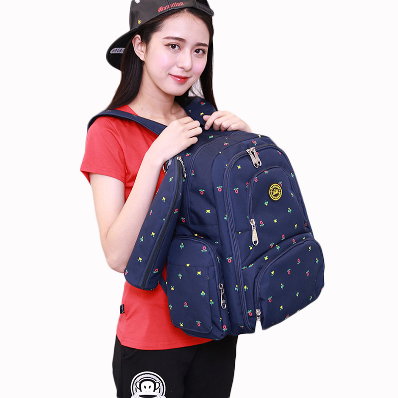 Fashion Mummy Maternity Nappy Diaper Bags Multifunction Mother bag Large Capacity Baby Travel Backpack Baby Nursing Bags <br>