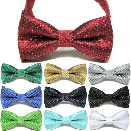 100PC/Lot New Bling Dog Bow Ties Polyester Dog Neckties Adjustable Ties Pet Accessories(China)