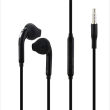 3.5mm In-ear Wired Stereo Headset Earphone Microphone for Samsung Galaxy S7 S6 Edge S5 S4 Note 5 4 3 Handfree Headphone Earbuds(China)