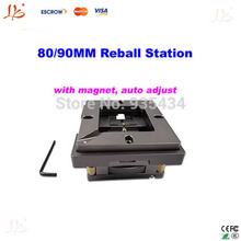 Free shipping Universal BGA Reball station Template Holder Jig for 80/90mm stencil, with auto adjust and magnet