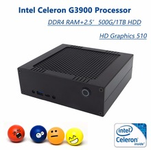 Best Price For You! Mini PC With Intel Celeron G3900 2C2T Max 2.8GHz, 4G/8G RAM 500G/1TB HDD, Mini Computer HTPC  Windows 10 Pro