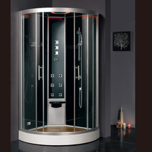 2017 new design luxury steam shower enclosures bathroom steam shower cabins jetted massage walking-in sauna rooms ASTS1051(China)