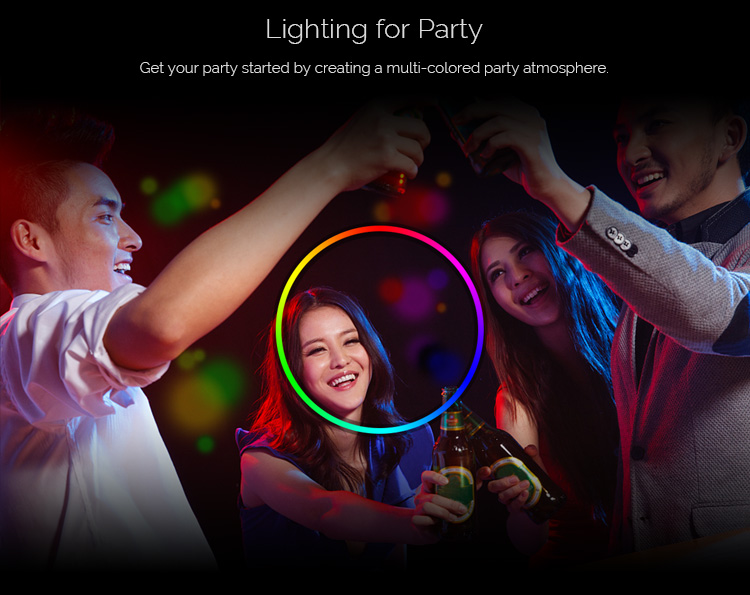 New Sonoff B1 Smart wifi Dimmable E27 LED Lamp RGB Color Light Timer Bulb Remote Turn ON/OFF Via IOS Android Home Automation