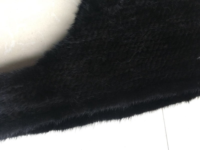 knitted mink fur scarf and hoody (5)