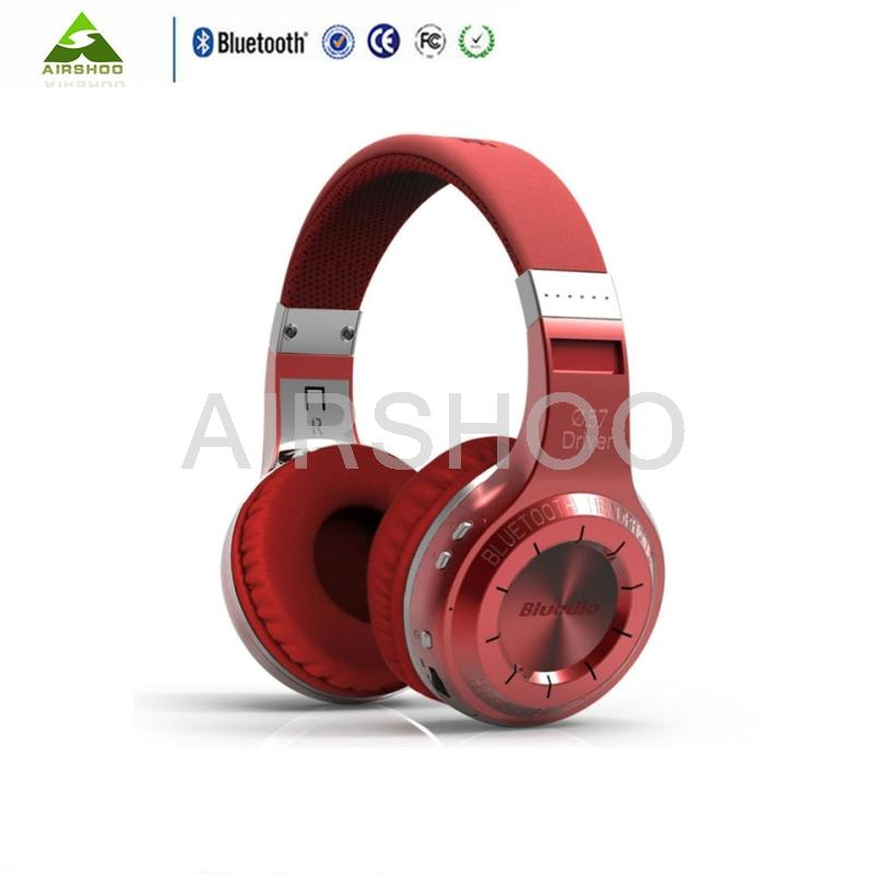 2017 Headsets Blu Dio HT Headphones Best Bluetooth Version 4.1 Wireless Headset Brand Mp3 Music Stereo Earphones With Microphone<br><br>Aliexpress
