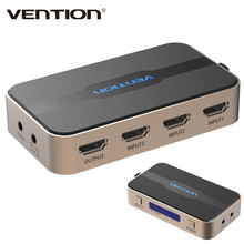 Vention 3 input 1 output HDMI Switch Switcher HDMI Splitter HDMI Cable with Audio for XBOX PS3 Smart HD 1080P HDMI 3 Input 1 Out