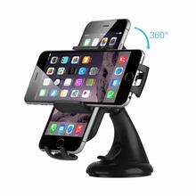 Car Mount Holder Windshield Dashboard Universal Cradle for iPhone 7 6 Plus 5s 5c 4 6S GPS Samsung Galaxy S6 Edge S5 S4 S3 Note 5