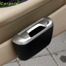 Dependable Fashion New Mini Auto Car vehicle Trash Rubbish Can Garbage Dust Case Holder Box Ma31 dropshipping