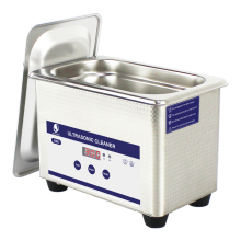 Digital Ultrasonic Cleaning Transducer Baskets Jewelry Watches Dental CD 0.8L 35W 40kHz Ultrasound Cleaner Mini Ultrasonic Bath