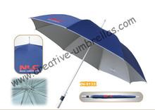 Free shipping by sea,14mm aluminium shaft and fiberglass long ribs,auto open umbrella,anti-rust,advertising,gift parasol