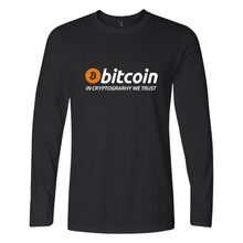 Buy New Bitcoin Cryptograrhy Trust T Shirt Men Women Casual Bitcoin Clothing Print Bitcoin Long Sleeve Tees for $9.70 in AliExpress store
