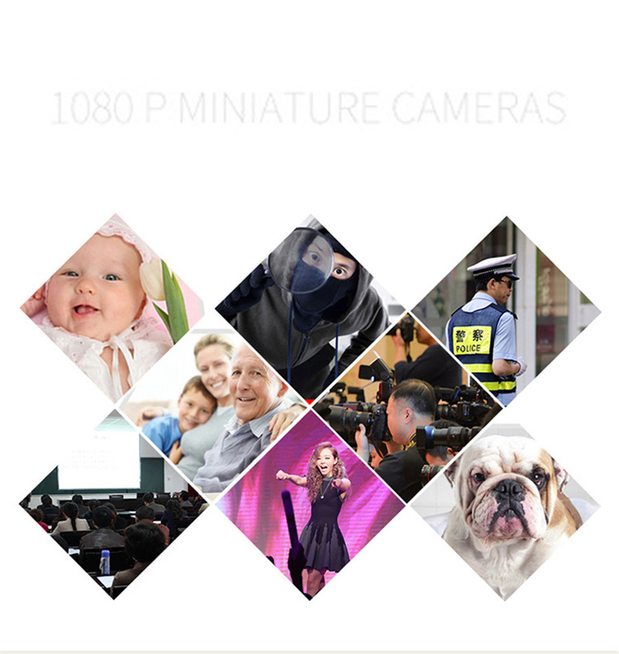 Full HD 1080P MINI Camera Digital Cam SQ11 Night Vision Sport Camcorder Video Voice Recorder Espia Nanny DV Secret Helmet