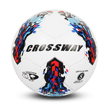 Crossway Standard Size 5 Football Soccer Ball PU Football Soft Wear-proof Soccer for Match Adults