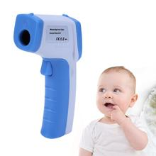 Handheld Baby Surface Thermometer Body Digital Electronic Thermometer Multi-purpose Non-contact Forehead Temperature Meter Gun(China)