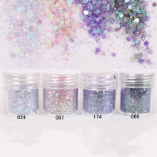 1 Box Glitter Purple Sequins Glitter Powder DIY Decoration Super Matte Powder Nail Art Glitter Paillette 8234069