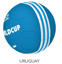 2016 Style Uruguay Size# 5  Machine Sewing Soccer ball