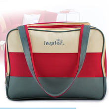 Fashion MultiColored Tote Nappy Bags Cross-body Multifunctional Mummy Bags Maternity Shoulder Diaper Bags Dollar Price Baby Bag(China)