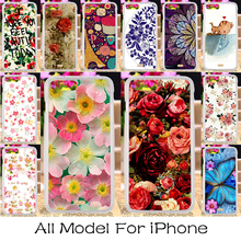 Luxury DIY Plastic Phone Case Cover For Apple iPhone 5c 4 4s 5 5s 6 6s 7 6 Plus 6s Plus 7 Plus SE iPhone5c Shell Housing Hood