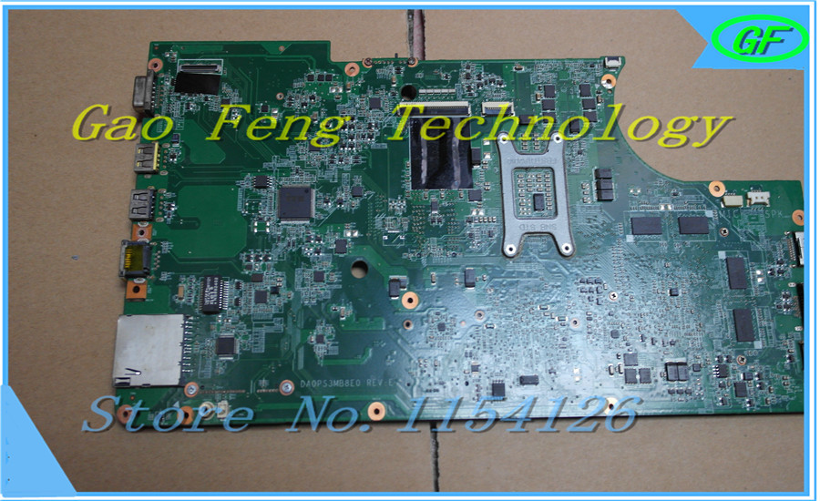 LAPTOP MOTHERBOARD 04W1765 for IBM E320 Edge 320 Non-Integrated DDR3 DA0PS3MB8E0 100% Work Perfect