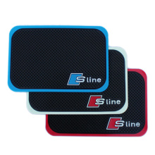 High Quality Car Mobile Phone S line Mat For AUDI A1 A3 A4 A5 A6 All Series Car Interior Accessories 1P Car Styling