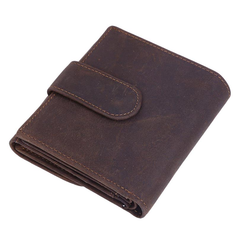 TIDING Free shipping men casual purse credit card holder vintage outlook cowhide leather purse 6236<br>