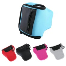 Neoprene Camera Bag Soft Inner Case For Olympus E-M5 Mark II OMD EM5II EM5 Pouch Protect Case Colors Black/Blue/Gray/Pink/Red