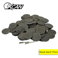 XCAN 102pcs Dremel totary tools 100pcs Fiberglass cutter of wheel 1/8'' shank for cut wood(China)