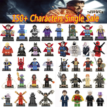 Newest DC Marvel Super Heroes Doctor Strange mini dolls lepin Justice League Avengers blocks model & building toys 70912