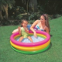 INTEX Inflatable Swimming Pool inflatable pool Baby Kids children ball pool Bath basin Summer baby swimming pool INTEX57402